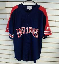 Cleveland Indians jersey Starter sz Medium all sewn Omar Lofton Thome Belle 90's