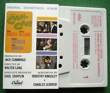 Cole Porter's Can-Can OST Frank Sinatra Shirley MacLaine + Cassette Tape TESTED