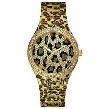 New GUESS Animal Print Polycarbonate Ladies Watch U0015L2