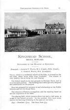 1946 Kingsmead Hoylake Arthur Watts Manor House Horsham Layton School Ad