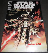 Star Wars Infinities comic book pack in Empire Strikes Back # 4 alternate Ending