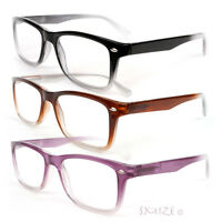 New Classic Medium Frame Reading Glasses Geek Retro Vintage Style 1.00 to 3.50