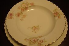 O & E G Royal Austria [later EPIAG] (Bohemia) - c1890s set of 7 soup plates,