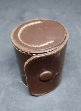 VINTAGE LEATHER POUCH CONTAINER HOLDER FOR BELL & HOWELL WIDE ANGLE LENS