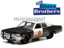GREENLIGHT 44710 C THE BLUES BROTHERS 1980 1974 DODGE MONACO BLUESMOBILE 1/64 BK