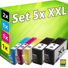 5x Stampante Cartuccia per hp 934XL+935XL Officejet pro 6230 6820 6830C All-In