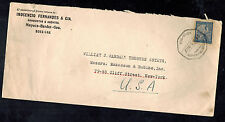 1926 Goa Portugese India Commercial Cover to USA