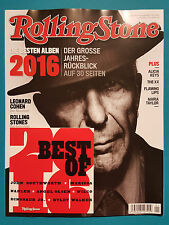 Rolling Stone mit CD Ausgabe 267 Januar 2017 ungelesen 1A absolut TOP