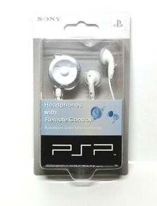 Official Sony PSP Headphone wtih Remote Volume Control White