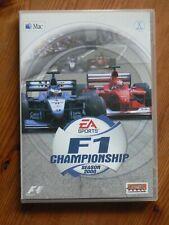 F1 campeonato temporada 2000 Mac – simulador de carreras de fórmula 1
