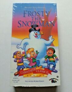 FROSTY THE SNOWMAN Christmas Classics Series Jimmy Durante VHS NOS Sealed