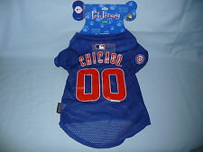 Chicago Cubs  DOG/PET JERSEY  size Large   by Hunter Mfg   NIP