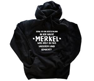 Denk ich an Deutschland in der Nacht-Merkel T-Shirt S-3XL