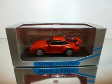 MINICHAMPS 65002 PORSCHE 911 GT2 STREET 1995 - RED 1:43 - EXCELLENT IN BOX