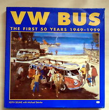 SIGNED Ded.Keith Seume-VW Bus The First Fifty Tears 1949-1999 1st Edition VG/G