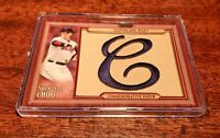 SHIN-SOO CHOO 2011 TOPPS UPDATE THROWBACK PATCH RELIC #TLMP-SSC INDIANS