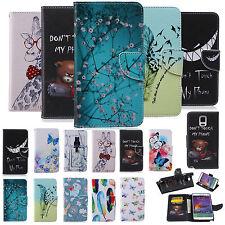 Handy Tasche für Samsung Flip Cover Case Motiv Wallet Schutz Hülle Etui Bumper
