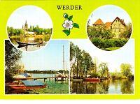 Werder ( Kr. Potsdam )  , DDR , Ansichtskarte ; ungelaufen