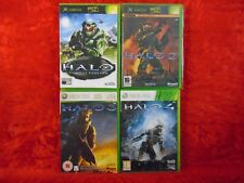 Xbox 360 HALO X4 *x 1 + 2 + 3 + 4 (all play on xbox 360) PAL Versions