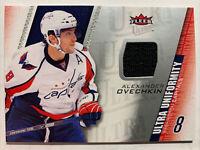 2009-10 Ultra Uniformity Jersey Alexander Ovechkin Washington Capitals