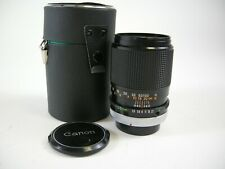 Canon FD FD S.C. 135mm f/3.5 Telephoto MF Lens in Excellent Condition