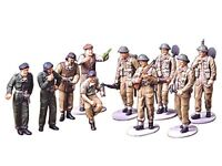 TAMIYA 1/48 WWII British Infantry Europe Campaign Set Model Kit NEW from Japan