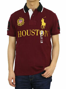 Polo Ralph Lauren Custom Slim Fit Big Pony City Polo Short Sleeve Shirt