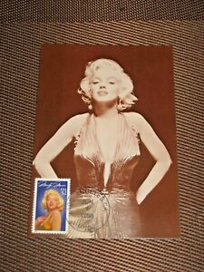 MARILYN MONROE POST CARD  (136-086)-4X6 WITH .32 STAMP