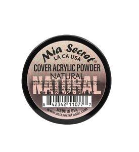 Mia Secret Cover Acrylic Powder Almond Baby Cool Pink Natural Golden Peach 1/2oz