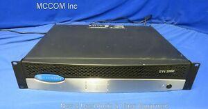 Crown CTs-2000 Two Channel Power Amplifier w/ USP4CN Card