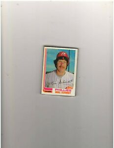 1982 Topps 12 card grocery baseball cello pack with Mike Schmidt on front