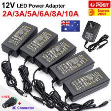 AC 240V TO DC 12V 1 2 5 6 8 10A Transformer Power Supply Adapter For LED Strip