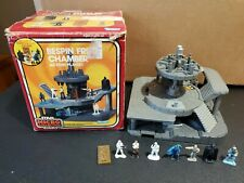 Vintage 1983 Kenner Star Wars Micro Collection Bespin Freeze Chamber Playset