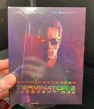 Terminator 2 4K Uhd+3D Blu-Ray Full Slip Case! Novamedia! Not Steel! Region Free