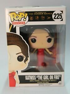 "Katniss ""The Girl on Fire"" Pop Vinyl #225 *FREE POSTAGE* Aus Seller :)"