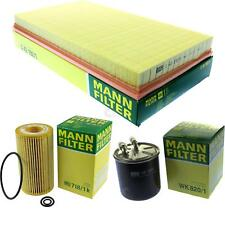 MANN-FILTER PAKET Mercedes-Benz Vito/Mixto Kasten W639 115 CDI 4x4 111 Viano