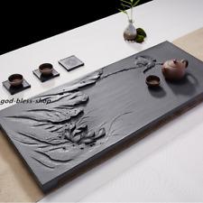full handmade tea tray hand carved lotus bird tea table for kungfu tea set large