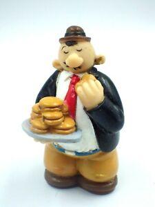 Figurine popeye wimpy Vintage toys pvc souple creux 8,5cm