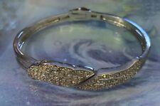 KIRKS FOLLY HEAVENLY Angel Wings Bracelet  Silvertone