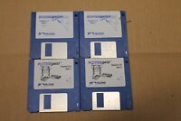 """Plotter Geist Software Version 1.1 & 2.0 For Macintosh 3.5"""" Floppy Disk"""