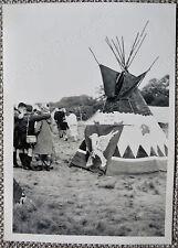 9th World Scout Jubilee Jamboree Original Photo 1: Teepee