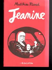 Matthias Picard Jeanine L'Association Graphic Novel Paperback French Comic Book