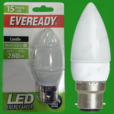 12x 4W Eveready LED Ultra Basse Consommation,Allumage Instantané Bougie
