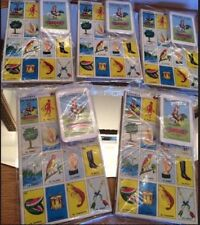 Lot Of 5 Loterias 20 Different Boards +Decks Mexican Bingo Game Educational Don