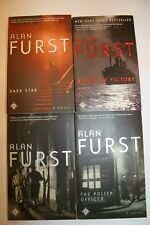 Alan Furst 4 Book Lot FREE SHIPPING!