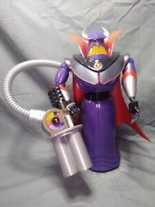 The Disney Store Toy Story Emperor Zurg 15 Inch Talking Action Figure Rolls