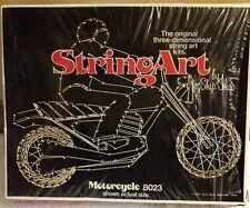 New Vintage String Art Motorcycle Bike Thread Design Kit 8023 Open Door