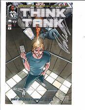 Think Tank #1 1st Printing Image Comics Rare SIGNED x2