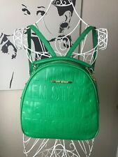 NEW STEVE MADDEN GREEN Logo Backpack NWT $78 MSRP BJELLEE