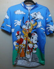 CYCLING JERSEY BICYCLE SHIRT GIORDANA DISNEY CHARACTERS L SHORT SLEEVED